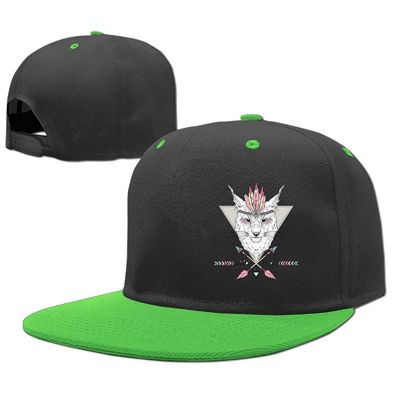 84fb4cfa800 Get Quotations · Kids Wild Wolf Adjustable Hip Hop Baseball Hat Toddler Cap  Custom Cap Children