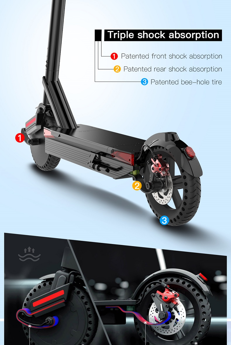 Micromobility E-vehicle Scooter แบ่งปันกับ GPS Tracker