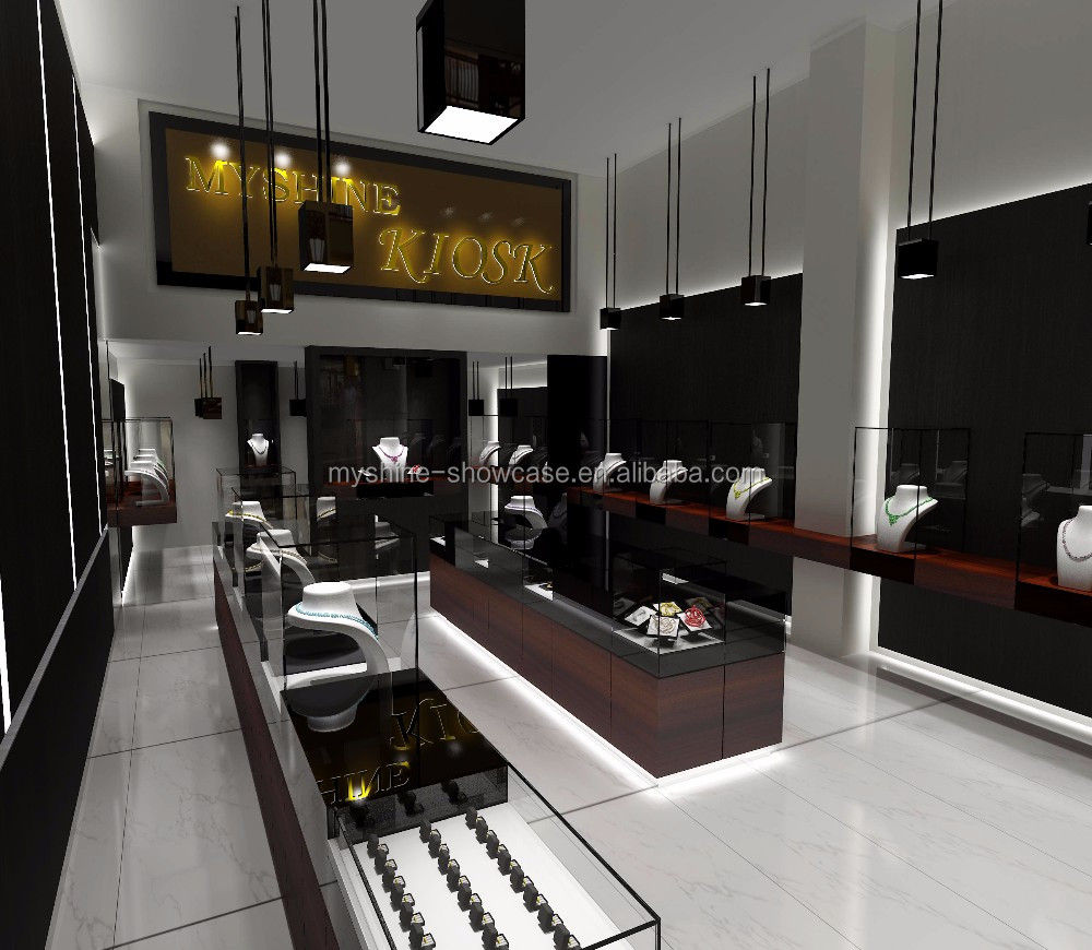 3d max jewellery showroom furniture interior decoration designs