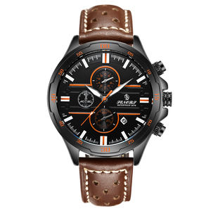Hot Sell King Cheap Quartz Chronograph Watch Western Wrist Watches