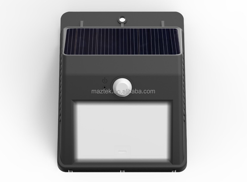 Solar Power Wireless Motion Sensor Solar Power Accent and Security Light