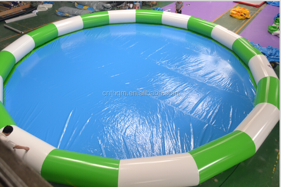 Large inflatable square or round pvc swimming pool for Square swimming pools for sale