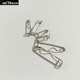 High Quality Badge Base 25mm Steel Crimp Safety Pins