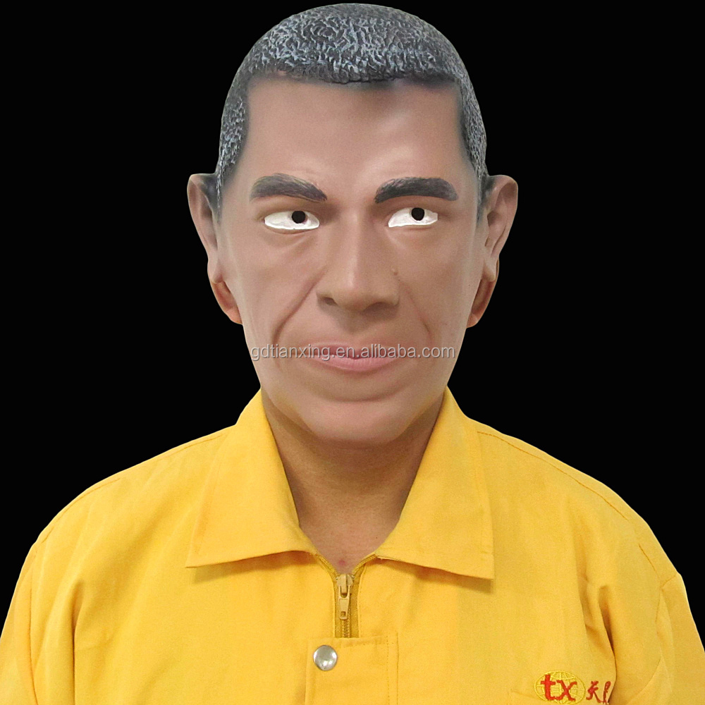 Manufacture High Quality Human Face Mask Obama Mask