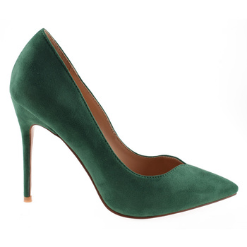 172670c58 Wholesale green Suede shoes pointed ladies' high heels women dress shoes stiletto  heels for ladies