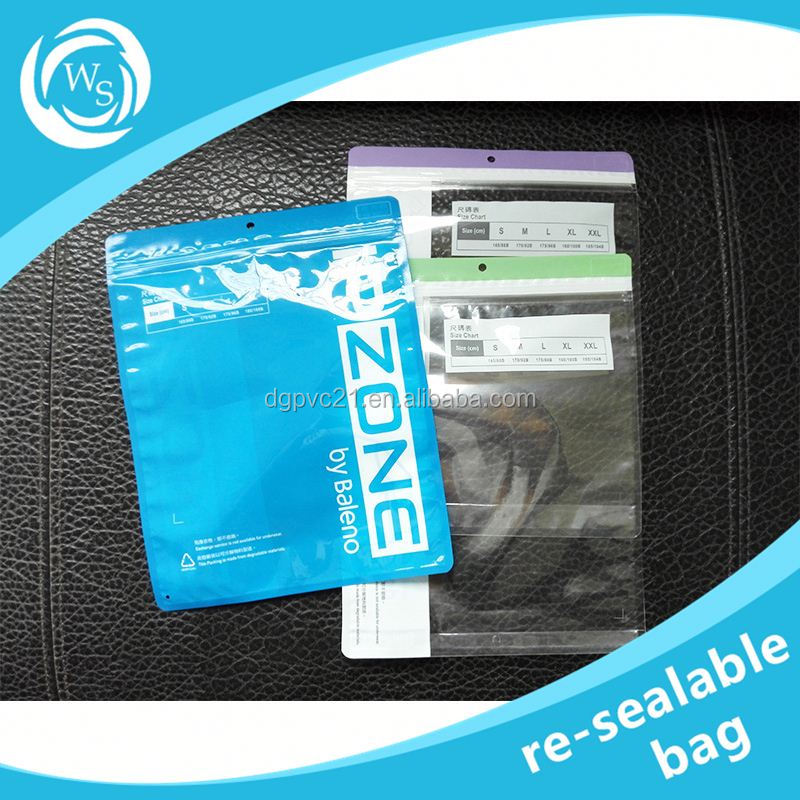resealable pouch has clear window for cable phone case