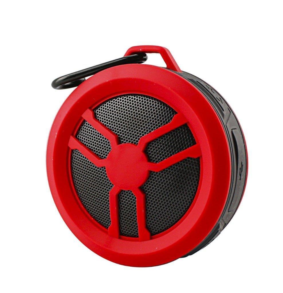 Portable Water Proof Wireless Speaker for BLU Vivo XL2, Neo X2, Life Max, Studio G2 HD, G Max, XL, Max, Dash G (Red)