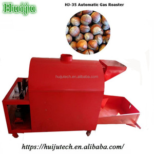 stove size:95*155cm automatic gas heating commercial nuts fry machine HJ-35