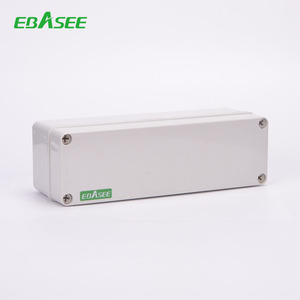 electrical circuit protection White Plastic 3 phase 18 way distribution board