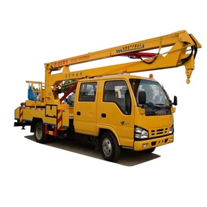Top brand 18 m High-altitude Operation Truck, hand operated lift truck for sale