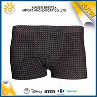 Fashion design cheap quick dry swim shorts mens nylon swimwear