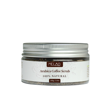 wholesale Private label Pure Natural Organic private label Cleansing exfoliating body arabica Coffee Scrub 100g