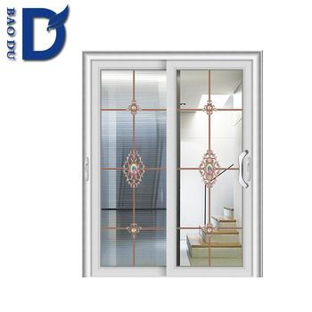 Water Proof Pvc Glass Design Aluminium Bathroom Doors Design Buy