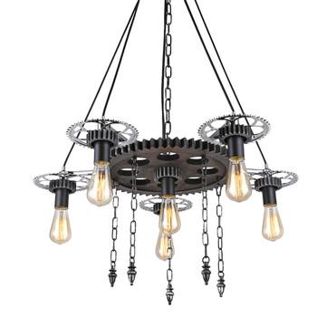 Nouvelle Machine L'âge De Tuyaux Steampunk Engrenages Led Pendentif Lampe Vintage Style Industriel Buy Steampunk Tuyau Engrenage Led