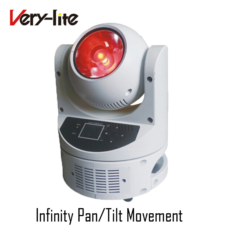 Infinite X/Y rotating beam led moving head 60W mini magic dot, beam rgbw led moving head Light