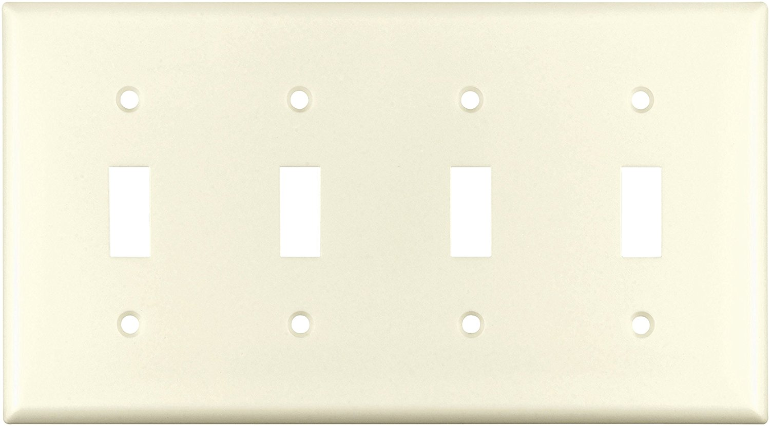 Cheap Thermoset Elastomers Find Deals On Line Cooper Wiring Wall Plates Get Quotations Devices 2154la Box Wallplate 4g Toggle Std La