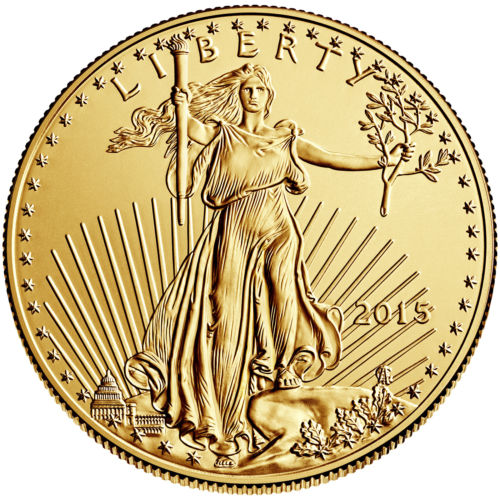 American eagle 22 k gold coin can pass the test