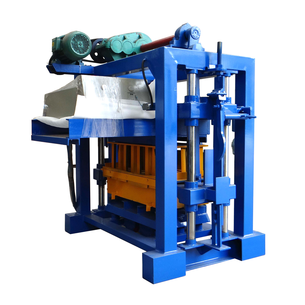Slag vibrated concrete mould brick making machine equipment in building house