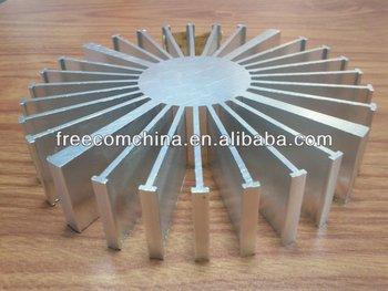 Freecom Aluminum Extrusion Heatsink/pin Fin Heatsink/silver ...