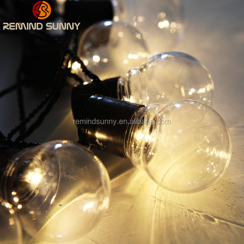 Globe String Lights With Clear Bulbs Hanging Indoor Outdoor String Light For Bistro Pergola Deckyard Tents Market Cafe Gazebo Po Buy Globe String