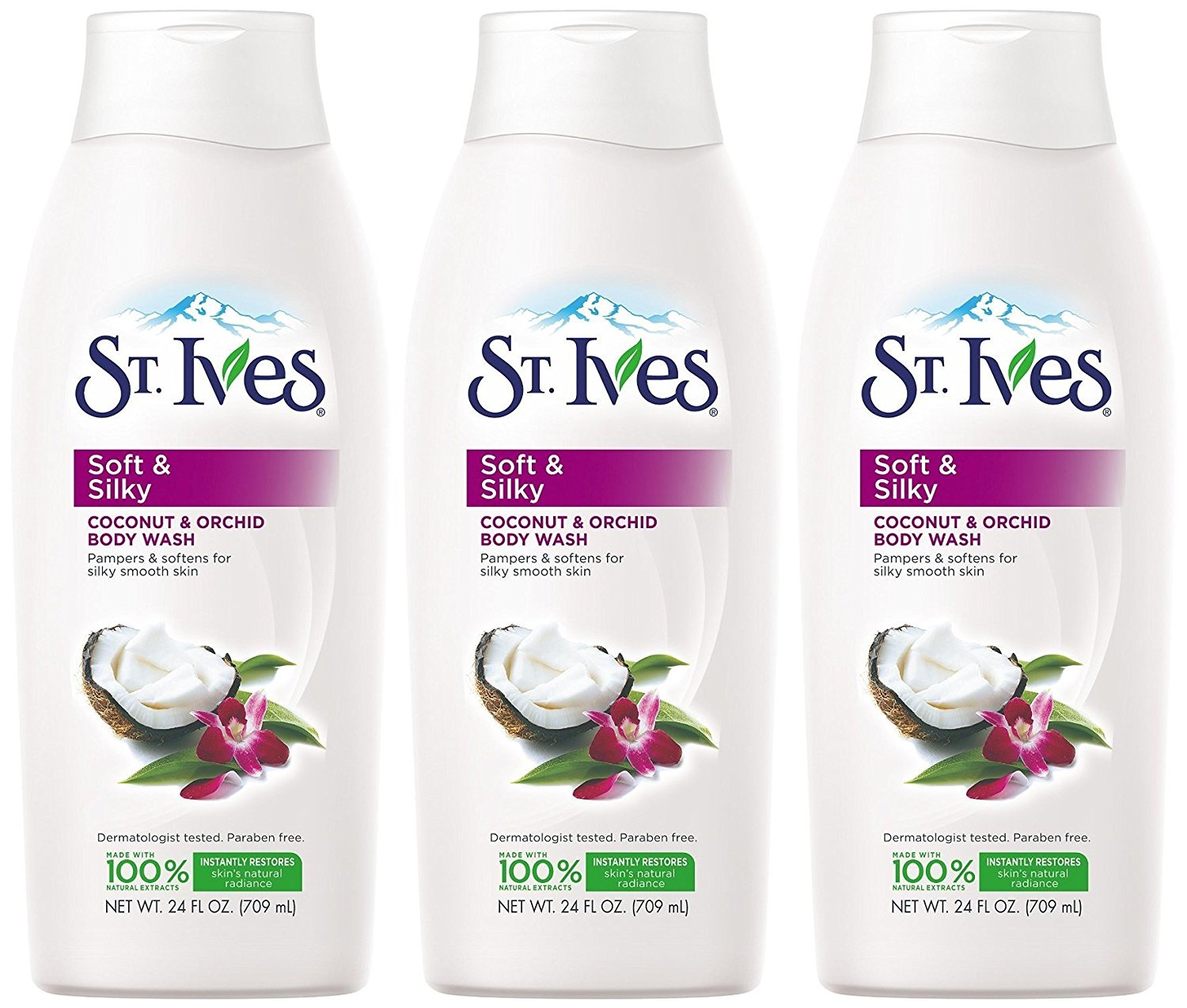Cheap St Ives Body Wash Find Deals On Line At Oatmeal Ampamp Shea Butter 400ml Get Quotations Soft And Silky Coconut Orchid 24 Oz Pack