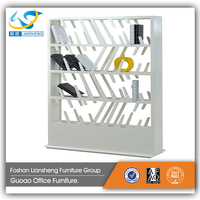 Storage Wooden File Wall Cabinet Shelf Supports For Office
