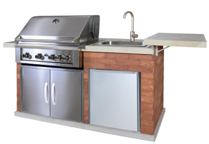 Outdoor Bbq Kitchen With Fridge Sink Bbq With Aga Ce Buy