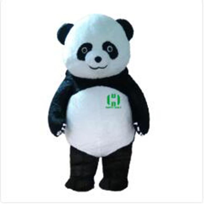 Panda Big Mascot Head Mask Soft Plush Costume Unisex Cosplay Animal