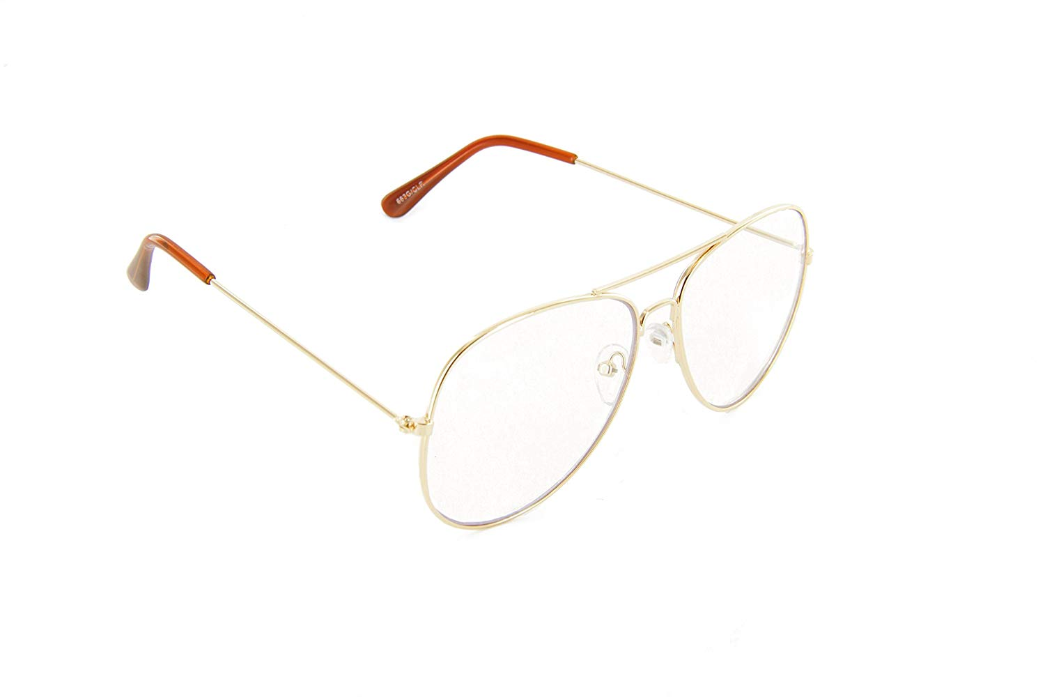 804e718486 Get Quotations · Classic Aviator Glasses Anti Glare Night Vision Driving  Lens Mens Womens