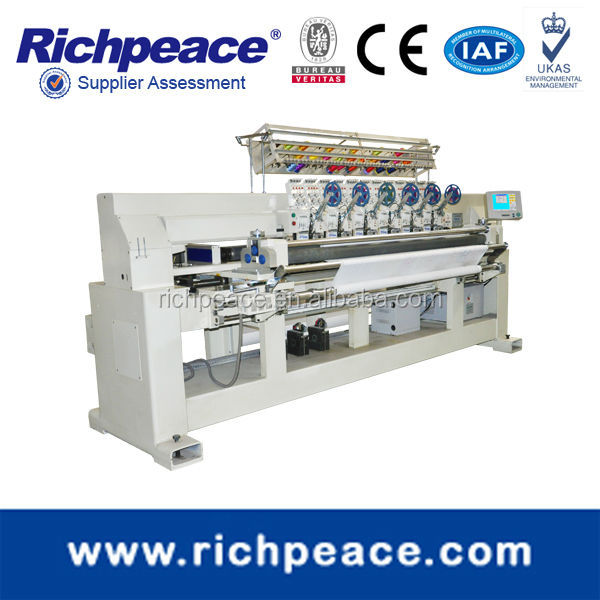 Richpeace Thin Materia Computerized Roll-to-Roll Embroidery Machine