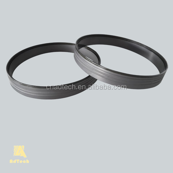 Produced by carbon and graphite and featured good thermostability graphite casting ring
