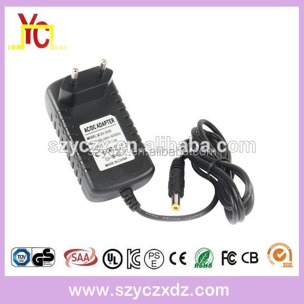 AC/DC 12V 1A 1.5A 2A power supply ac adapter led driver for cctv/led/lightings power adapter