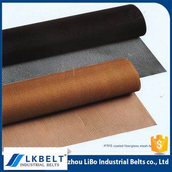 High Quality Ptfe / Teflon Mesh Conveyor Belt For Uv Varnishing Machine /  Uv Coating Machine - Buy Mesh Conveyor Belt,Teflon Mesh Conveyor Belt,Ptfe
