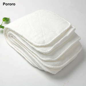 Super absorbent Adult diaper insert pad 4 layers microfiber insert for adult cloth diaper