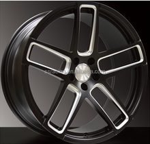 "New Style 20"" black double 5-spoke forged aluminum alloy wheel / 22 1pc forged wheels"