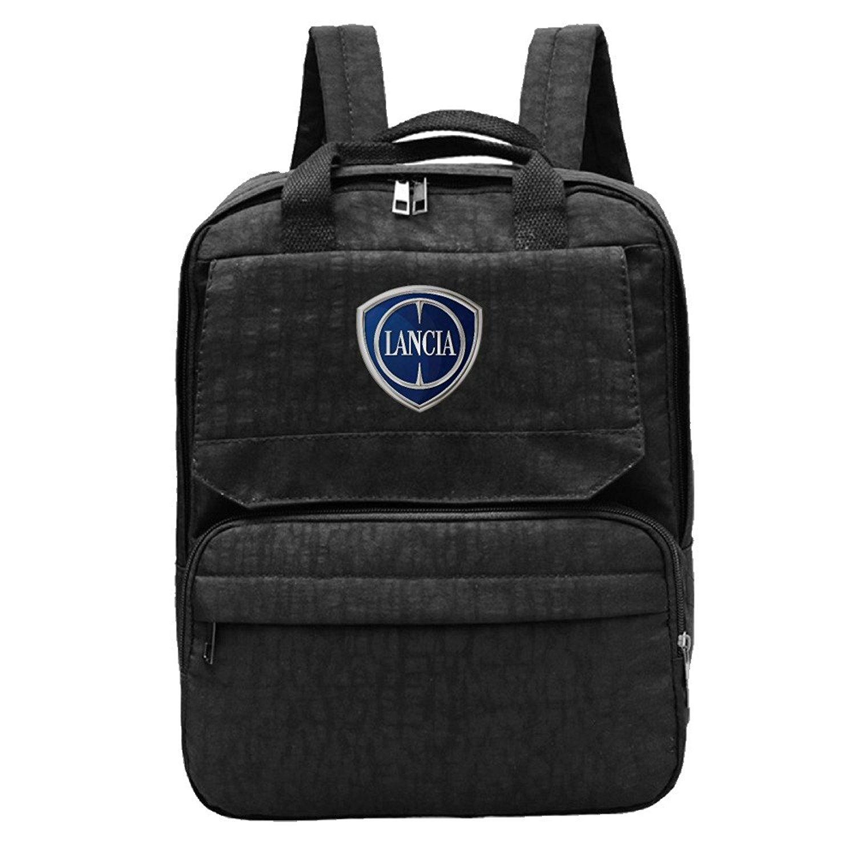 Get Quotations · Hyseney Custom Lancia Car Logo Women s Travel Bags Leisure  Backpack 3eecd8377f