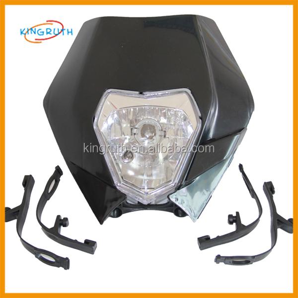 Pit Bike Headlight Kit With Voltage Regulator Klx110 Crf50 Drz70