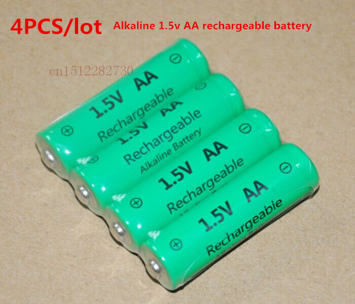 4pcs lot aa 3000mah znmn 1 5v aa rechargeable alkaline battery cell zn mn batteries replace for. Black Bedroom Furniture Sets. Home Design Ideas