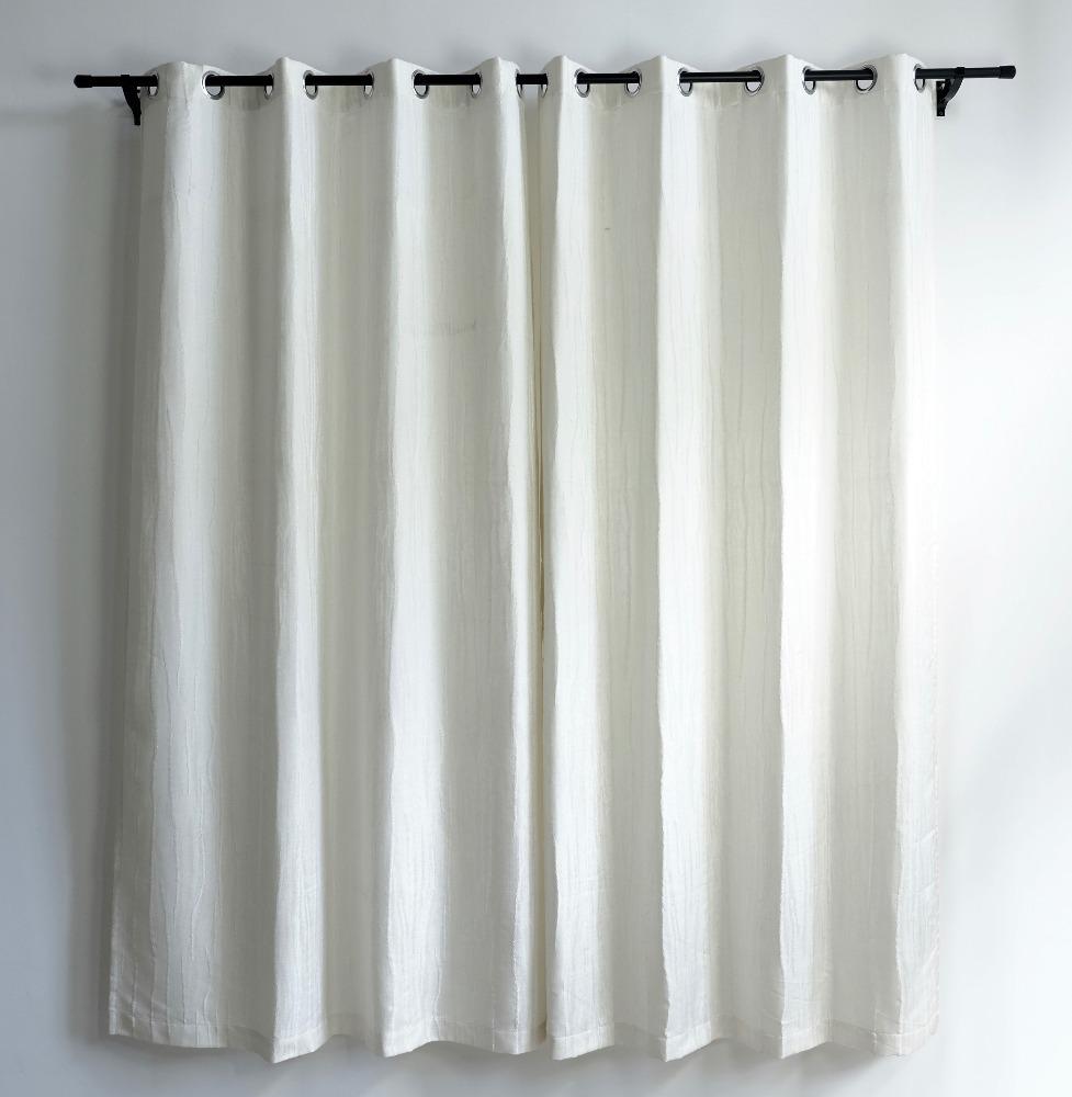 fabriek directe verkoop moderne linnen venster jacquard gordijnen en gordijnen
