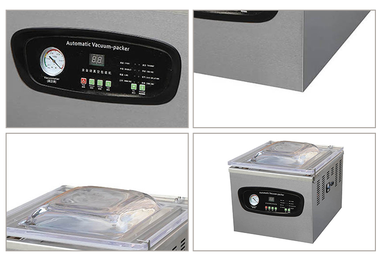 DZ-400 Meja Ruang Tunggal Air Vacuum Packing Mesin