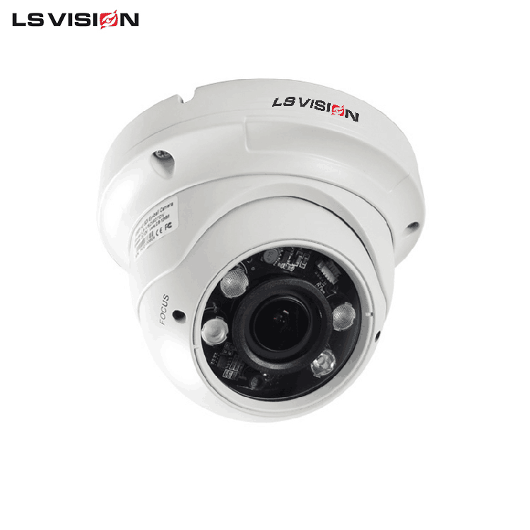 LS VISION 4 Megapixel Security Network Video Camera With NVR Supporting H.264