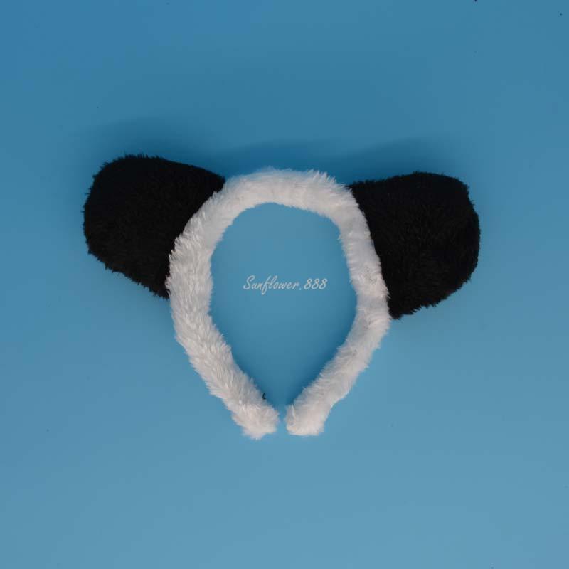 Black White Animal Panda Headband Headwear Headdress Ear Costume Party font b Fancy b font font