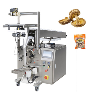 Vertical form fill seal packaging machine for mushroom