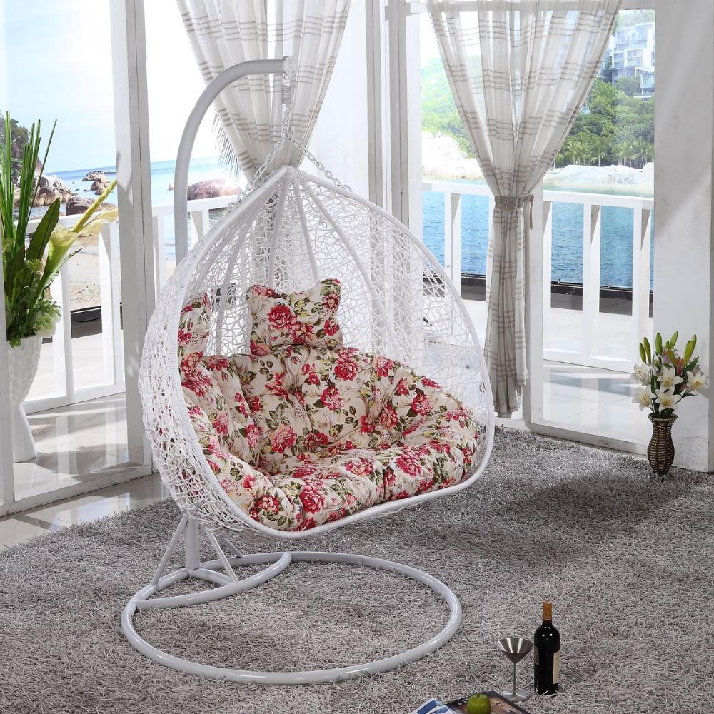 deux personne si ge en plein air int rieur osier rotin. Black Bedroom Furniture Sets. Home Design Ideas