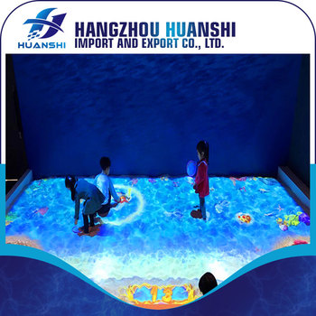 interactive floor projection system from i tech