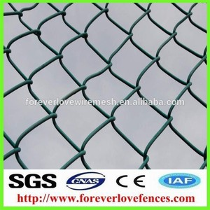 decorative ss rope fence / rope bridge /climbing rope mesh chain link fence