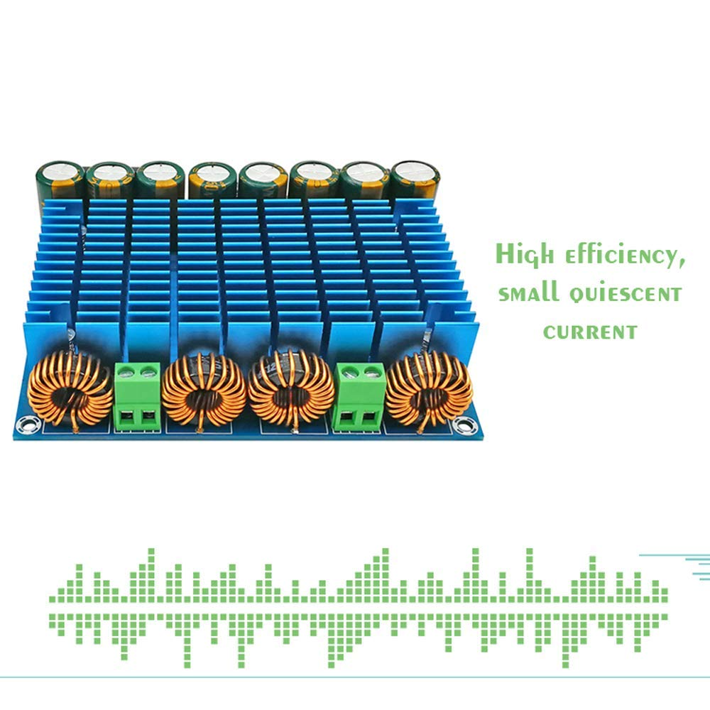 KKmoon XH-M252 Ultra High Power Digital Module AC 24V Stereo TDA8954TH Dual Chip 2 420W Amplifier Board