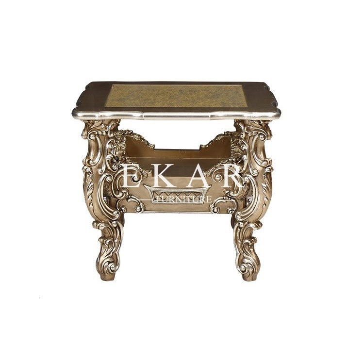 Baroque Luxury Carved Living Room Furniture Antique Wooden ...