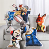 Wholesale lovely kids plush toy umbar support chair cushion