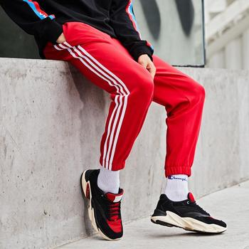 Relaxed Stripe Men's Casual Sport Pants Of Summer